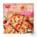 Піца Mantinga Napoletana Polina з копченою куркою 340г