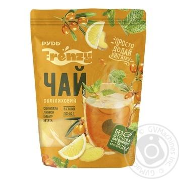 Чай Рудь Frenzy Обліпиховий вітамінний заморожений у стіках 8*40г - купити, ціни на Novus - фото 1