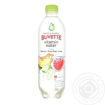 Напій Buvette соковмісний зі смаком абрикоса алое вера та інжиру 0,5л - купити, ціни на Novus - фото 1