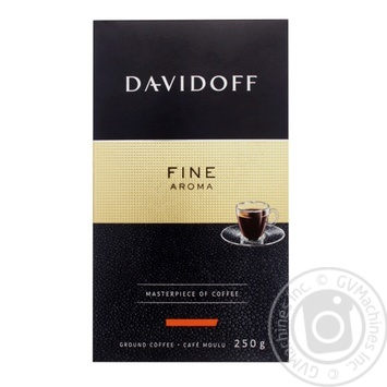 Coffee Davidoff Fine Aroma 250g ground - buy, prices for MegaMarket - image 1