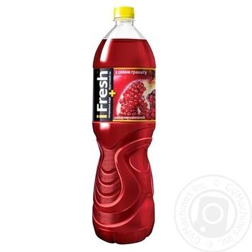 Beverage Ifresh pomegranate non-carbonated 500ml plastic bottle - buy, prices for Novus - image 1