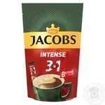 Напиток кофейный растворимый Jacobs 3в1 Intense 8штх12г