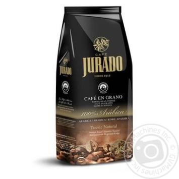 Каофе Jurado в зернах натуральный жареный 1кг