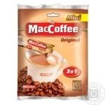 Напій кавовий Маккофе 3в1 оріджинал міні розчинний в стіках 24х20г