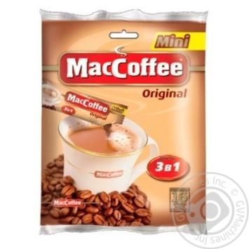 Напиток кофейный Маккофе 3в1 ориджинал мини растворимый в стиках 24х20г