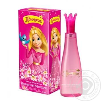 Eau de toilette Princessa Vanilla fantasy with vanilla for children from 3 years 75ml - buy, prices for Novus - image 1