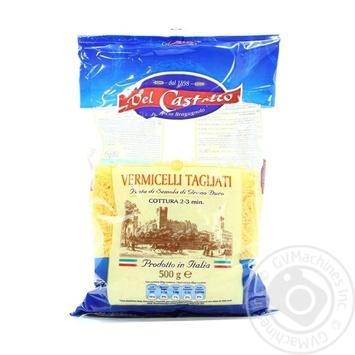 Макаронные изделия Del Castello Вермишель тонкая 500г
