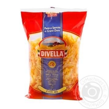 Макаронные изделия Divella Fusilli №40 500г - купить, цены на Novus - фото 1