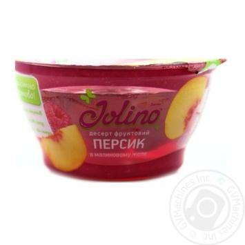 Десерт фруктовий Джоліно Персик в малиновому желе 150г - купити, ціни на Novus - фото 2