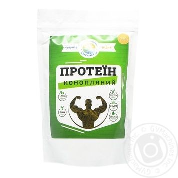 Protein hemp 250g - buy, prices for Novus - image 1