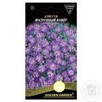Насіння Квіти Лобулярія Східний килим Golden Garden 0,2г