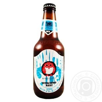 Пиво Hitachino Nest White Ale светлое нефильтрованное 5,5% 0,33л - купить, цены на Novus - фото 1