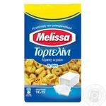 Макаронные изделия Melissa тортеллини фаршированные сыром фета яичные 250г