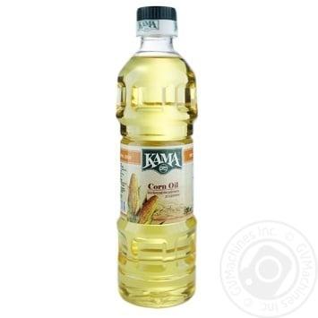 Oil Kama corn refined 455g plastic bottle - buy, prices for Novus - image 1