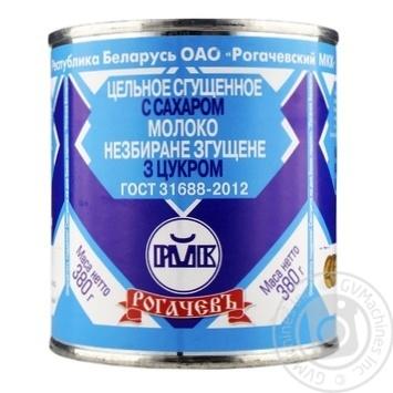 Молоко сгущенное Рогачевъ цельное с сахаром 8,5% 380г - купить, цены на Таврия В - фото 1