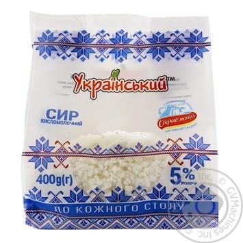 Творог Украинский 5% 400г