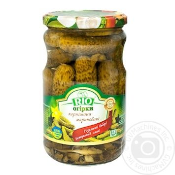 Rio Pickles gherkins 550g - buy, prices for Novus - image 1