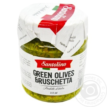 Santolino Green Olives Bruschetta 212ml - buy, prices for Novus - image 1