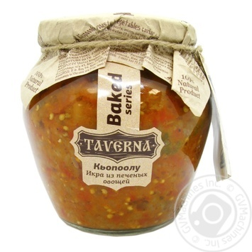 Vegetables Taverna vegetable canned 580ml glass jar - buy, prices for Novus - image 1
