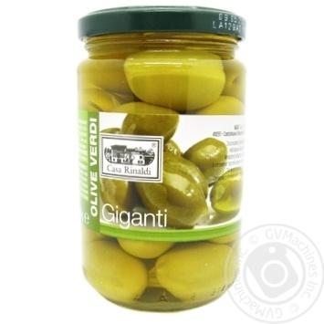 olive Casa rinaldi green with bone 310g glass jar - buy, prices for Novus - image 1