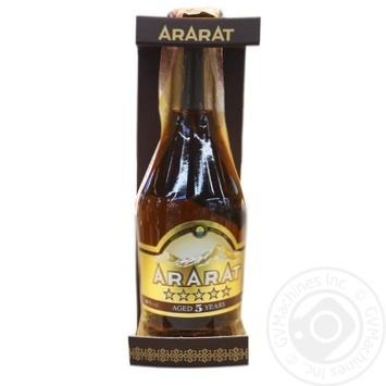 Коньяк Арарат 5 лет 40% 0,2л - купить, цены на Novus - фото 1