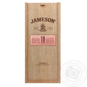 Виски Jameson 18 лет 40% 0,7л в подарочной упаковке