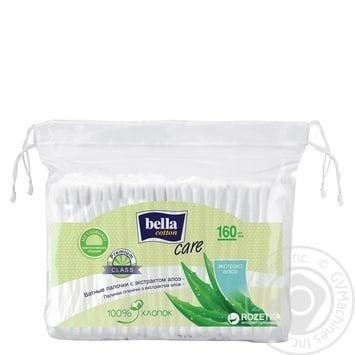 Bella Cotton Care with Aloe Cotton Sticks 160pcs - buy, prices for CityMarket - photo 1
