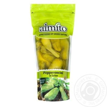 Перец Almito Пепперончини зеленый средней остроты 250г - купить, цены на Novus - фото 1