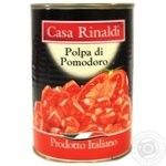 Томаты в собственном соку Casa Rinaldi Polpa di Pomodoro 400г - купить, цены на МегаМаркет - фото 1
