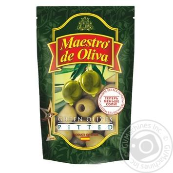 Оливки Maestro De Oliva без косточки 175г - купить, цены на Novus - фото 1