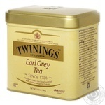Чай чорний Twinings of London Earl Grey 100г