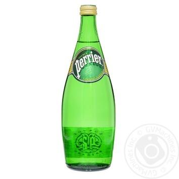 Вода Perrier минеральная газированная 0,75л - купить, цены на Фуршет - фото 1