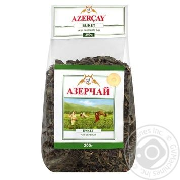Azercay Buket Green Tea 200g - buy, prices for MegaMarket - image 1