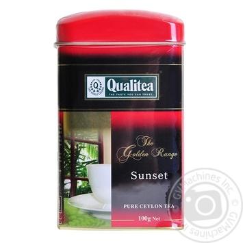 Qualitea Sunset black loose tea 100g - buy, prices for Novus - image 1