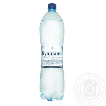 Вода Куяльник лікувально-столова сильногазована 1,5л - купити, ціни на Novus - фото 1