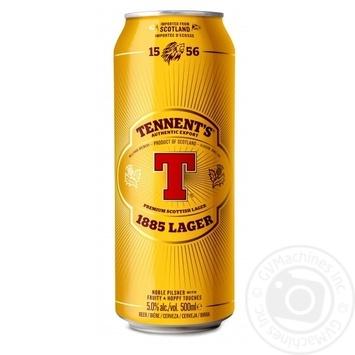 Пиво Tennent's Lager 1885 5% 0,5л