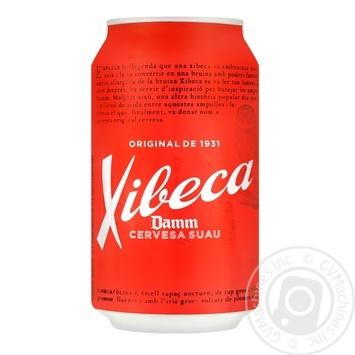 Xibeca Damm Beer light 4,6% 0,33l