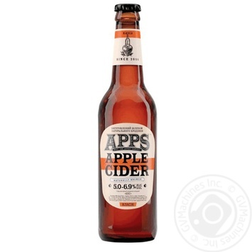 Apps Classic Apple cider 5-6,9% 0,5l - buy, prices for Novus - image 1