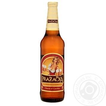 Пиво Пражечка 4% светлое 500мл Чехия