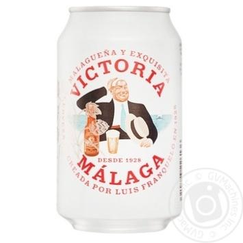 Пиво Victoria светлое 4,8% 0,33л
