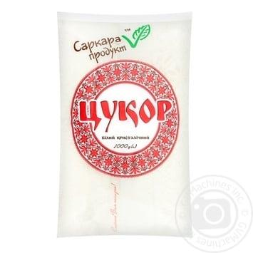 Цукор Саркара Продукт білий кристалічний 1кг - купити, ціни на Novus - фото 1