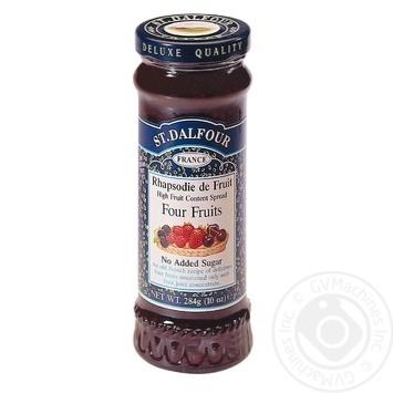 Джем Сент Далфур Чотири ягоди 284г Франція - купити, ціни на МегаМаркет - фото 2
