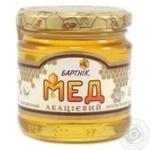 Honey Bartnik flowery canned 250g glass jar Ukraine