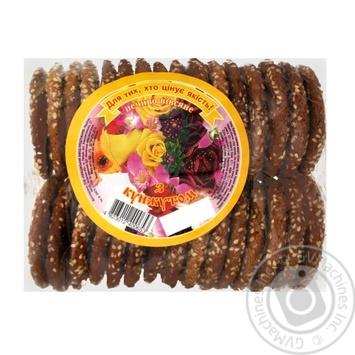 Печиво Ржищев з кунжутом 500г - купити, ціни на Novus - фото 1