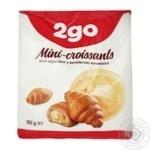 2go Mini Croissants with Vanilla Filling 180g
