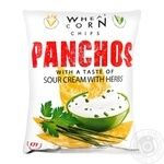 Panchos Chips with sour cream and herbs 82g