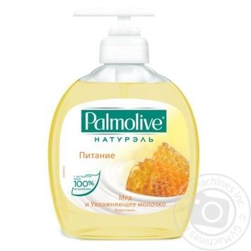 Мыло жидкое Palmolive Naturel Питание с медом и увлажняющим молочком 300мл - купить, цены на Novus - фото 2