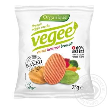 Снеки картопляні Mclloyd's Vegee органічні без глютену 25г - купити, ціни на Novus - фото 1