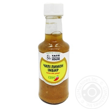 Соус Tato Pepper Jam чили, лимон, имбирь 210г - купить, цены на Novus - фото 1