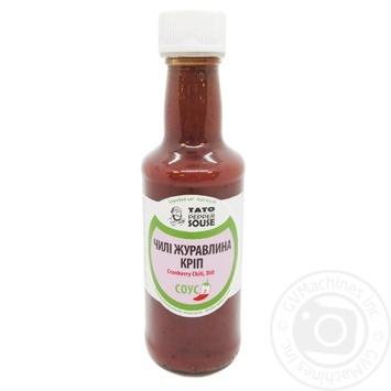 Соус Tato Pepper Jam чили, клюква, укроп 210г - купить, цены на Novus - фото 1